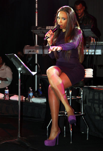 jhud a1 Jennifer Hudson Soars At Soul Sessions