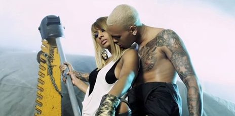Hot Shots: Keri Hilson & Chris Brown Film 'One Night Stand' Video