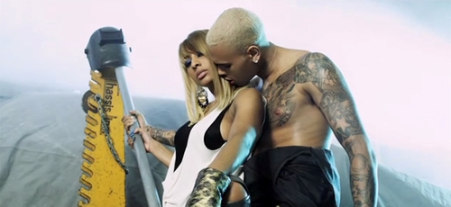 kerichris2 Hot Shots: Keri Hilson & Chris Brown Film One Night Stand Video