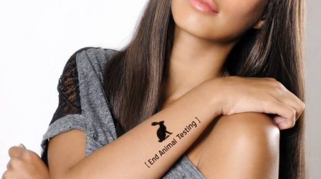 Hot Shots: Leona Lewis Participates In Human Society Campaign
