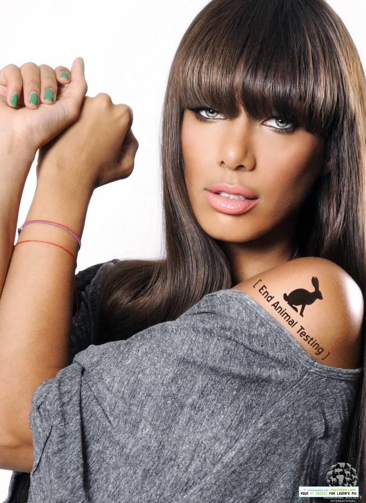 leonalewis21 Hot Shots: Leona Lewis Participates In Human Society Campaign