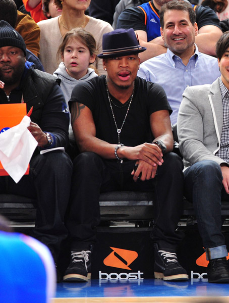 neyo1 Hot Shots: Ciara & Ne Yo Attend Pacers Vs Knicks Game