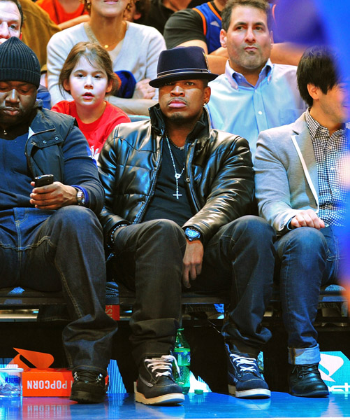 neyo21 Hot Shots: Ciara & Ne Yo Attend Pacers Vs Knicks Game
