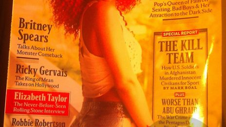 Sneak Peek: Rihanna's Rolling Stone Magazine Cover