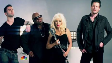 Christina Aguilera Talks About 'The Voice'