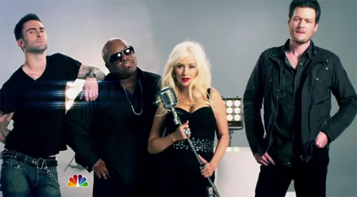the voice Christina Aguilera Talks About The Voice