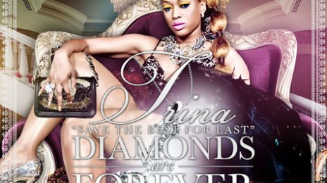 Hot Shot: Trina's 'Diamonds Are Forever' Mixtape Cover