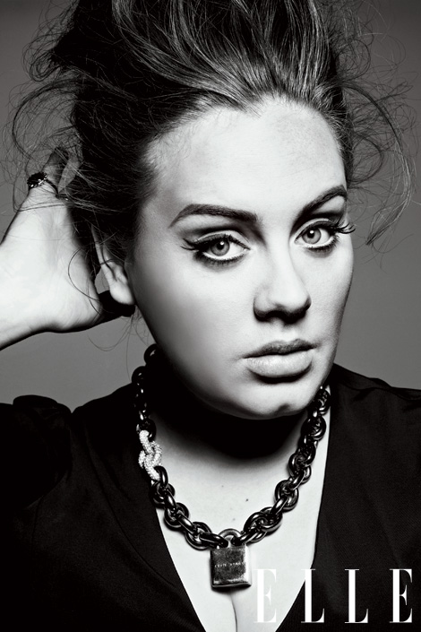 Adele Hot Shot: Adele Brings London Fashion To ELLE