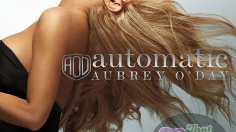 Hot Shot: Aubrey O'Day's 'Automatic' Single Cover