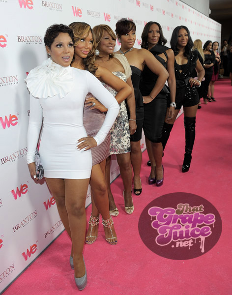 Toni, Tamar, Evelyn, Traci, Towanda, Trina