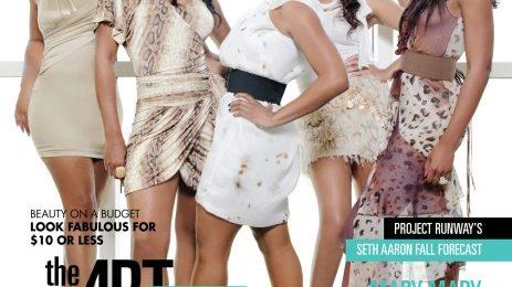Hot Shot: The Braxton Sisters Cover Kontrol Magazine