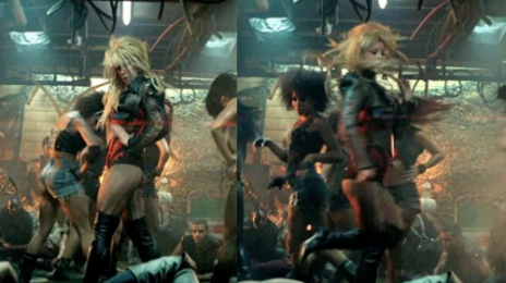 Video Evidence Of Britney Spears' Stunt-Double