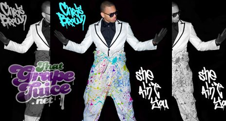 Chris Brown Reveals 'She Ain't You' Single Cover