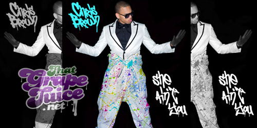 chris brown she aint you Chris Brown Reveals She Aint You Single Cover
