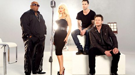 Christina Aguilera & Other 'The Voice' Judges Get 'Crazy'