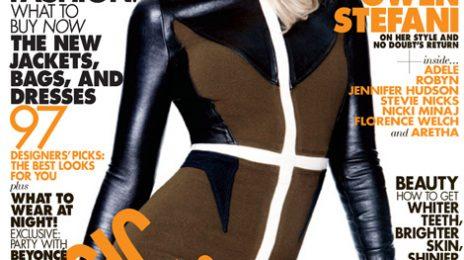 Gwen Stefani Covers Elle; Talks New Stars