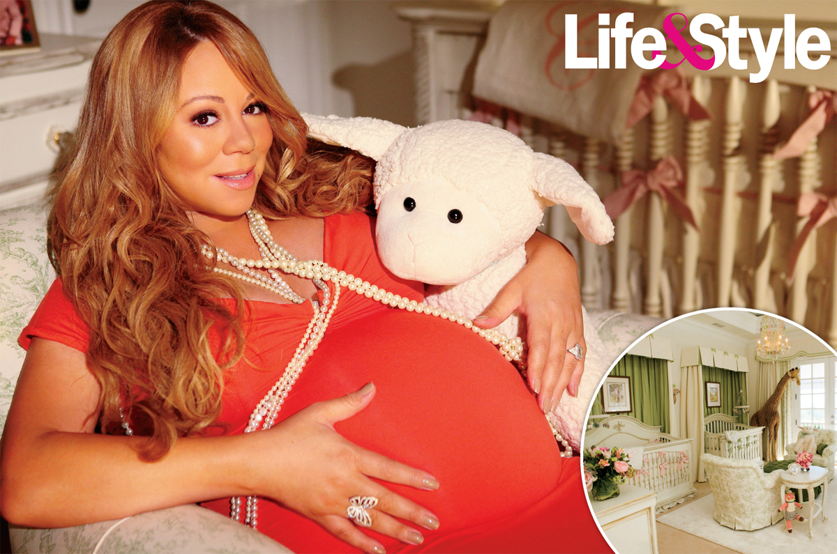 mariah2 Hot Shots: Mariah Carey Shows Off Baby Nursery To Life & Style