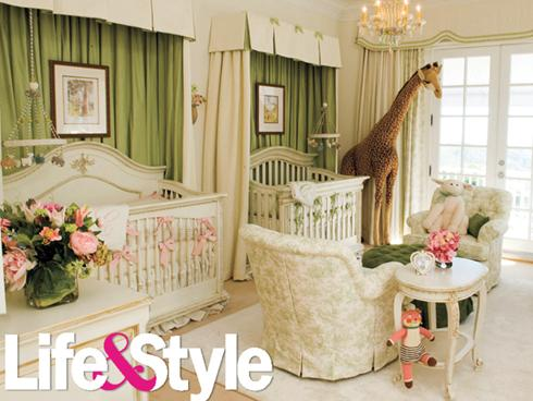 mariah21 Hot Shots: Mariah Carey Shows Off Baby Nursery To Life & Style