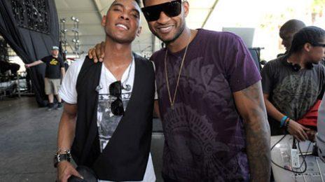 Hot Shots: Usher & Miguel Reunite At Coachella