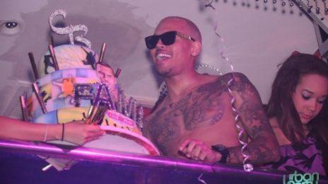 Hot Shots: Chris Brown's Birthday Bash In Miami