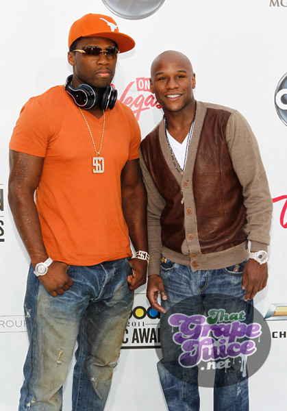 50 cent Billboard Music Awards: Red Carpet
