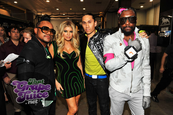 bep Billboard Awards 2011: Backstage & Audience