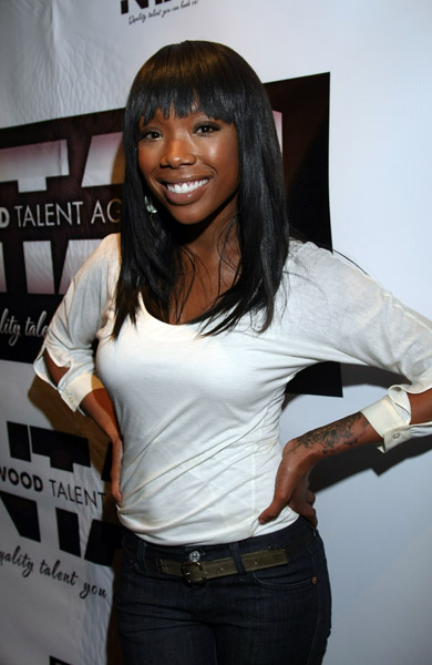 brandy65a Hot Shots: Brandy & Family Launch Talent Agency