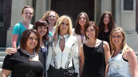 Hot Shot: Britney On Set Of 'I Wanna Go' Video
