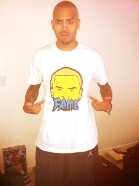 chris brown blonde Hot Shot: Chris Brown Goes Back To Blonde