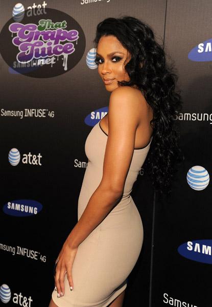 ciara work Hot Shots: Nicki Minaj, Jennifer Hudson, & Ciara Come Out For Samsung