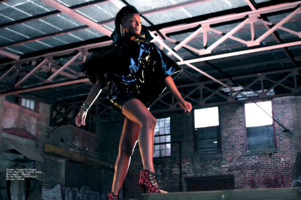 dawn23 Hot Shot: Dawn Richard Connects In Edgy Photoshoot