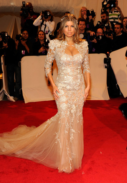 fergie4 Hot Shots: Beyonce, Jay Z, Rihanna & More Shine At MET Ball