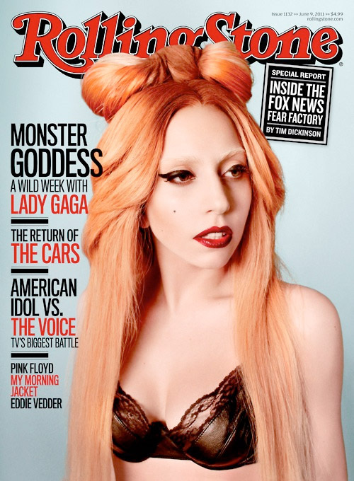 gaga rolling Hot Shot: Lady GaGa Covers Rolling Stone