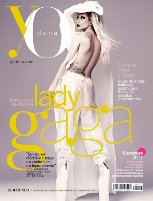 gaga you Hot Shot: GaGa Goes Avant Garde For Yo Dona