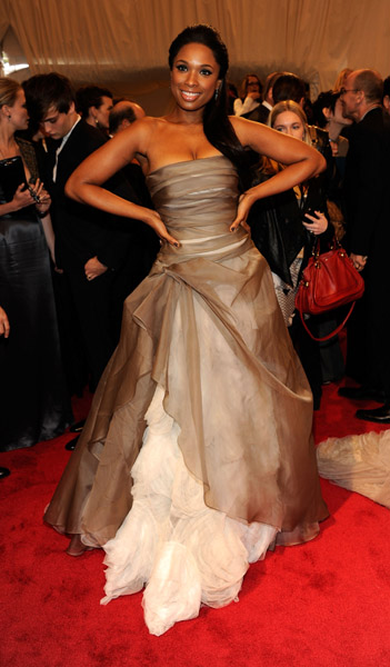 jennifer hudson1 Hot Shots: Beyonce, Jay Z, Rihanna & More Shine At MET Ball