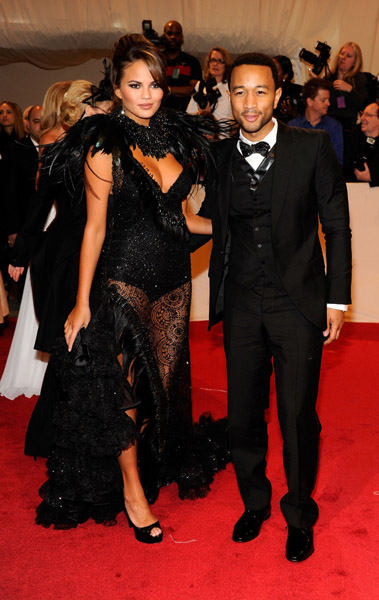 john legend2 Hot Shots: Beyonce, Jay Z, Rihanna & More Shine At MET Ball