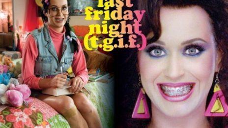 Hot Shot: Katy Perry's 'Last Friday Night (T.G.I.F)' Single Cover