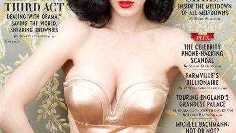 Katy Perry Covers Vanity Fair; Talks Religious Parents