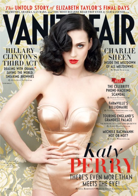 katy perry vanity 12 Katy Perry Covers Vanity Fair; Talks Religious Parents
