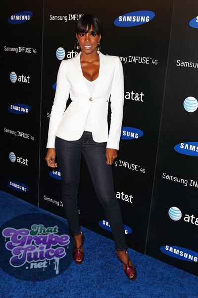 kelly rowland 5 Hot Shots: Kelly Rowland Beams At Samsung Launch