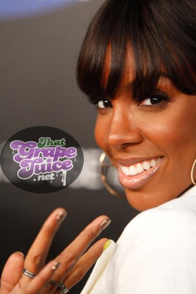 kelly54 Hot Shots: Kelly Rowland Beams At Samsung Launch