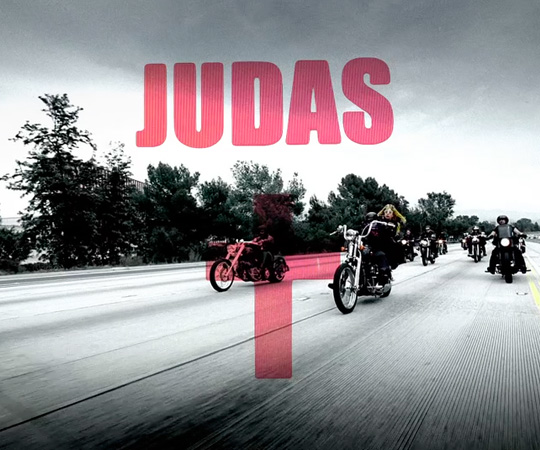 ladygagajudas Hot Shot: Lady GaGa Films Judas Video