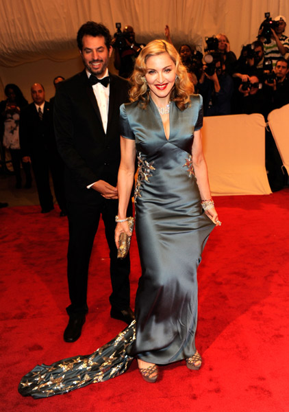 madonna 2 Hot Shots: Beyonce, Jay Z, Rihanna & More Shine At MET Ball
