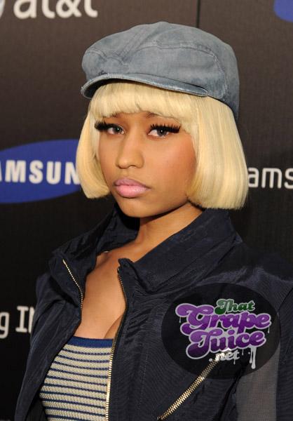 nicki 8 Hot Shots: Nicki Minaj, Jennifer Hudson, & Ciara Come Out For Samsung