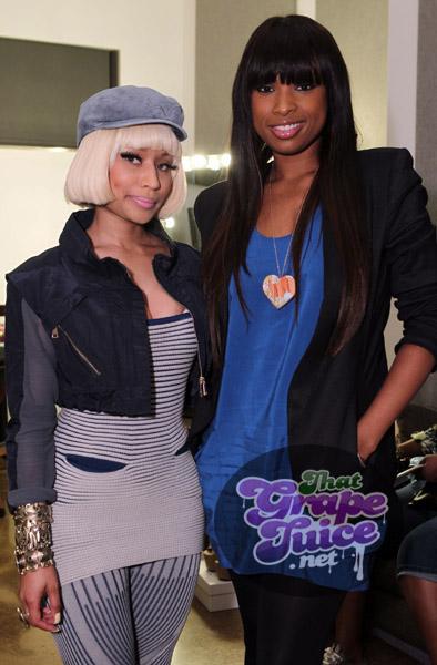 nicki jhud Hot Shots: Nicki Minaj, Jennifer Hudson, & Ciara Come Out For Samsung