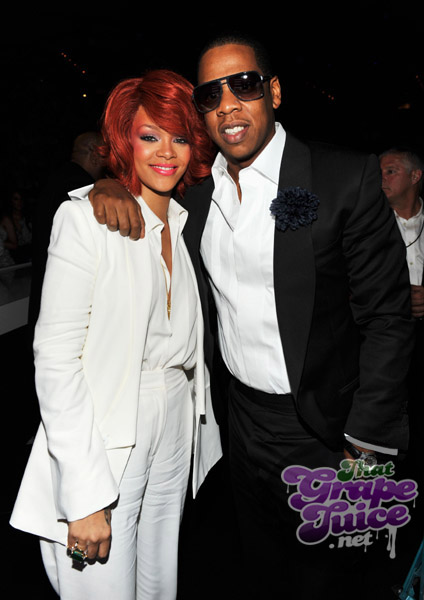 rihanna jay Billboard Awards 2011: Backstage & Audience