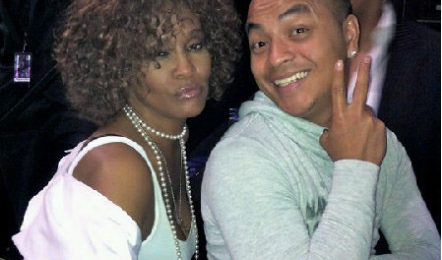Hot Shot: Whitney Houston Attends Prince Show
