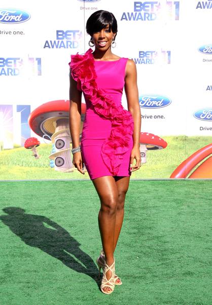 Kelly Rowland bet awards BET Awards 2011: Red Carpet