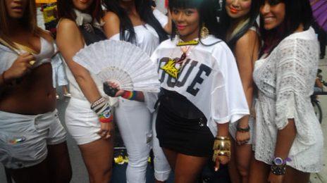 Hot Shots: Lil Kim Celebrates Gay Pride In NYC