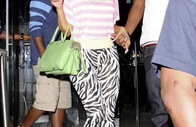 Hot Shots: Nicki Minaj Out And About In Hollywood